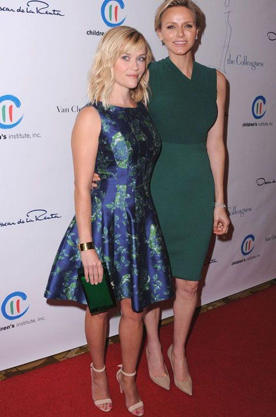 Reese Witherspoon et Charlène de Monaco