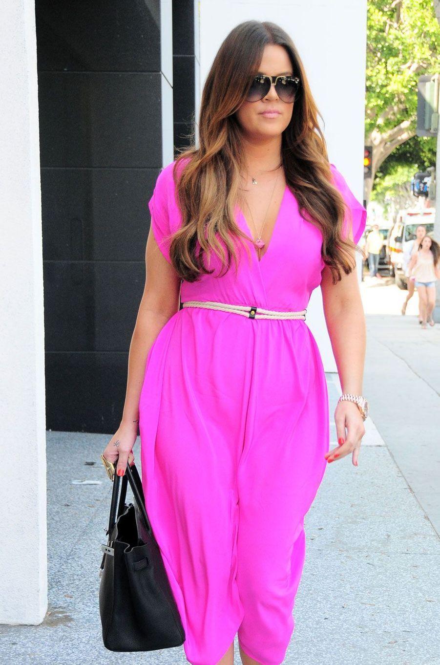 Khloé Kardashian en août 2011