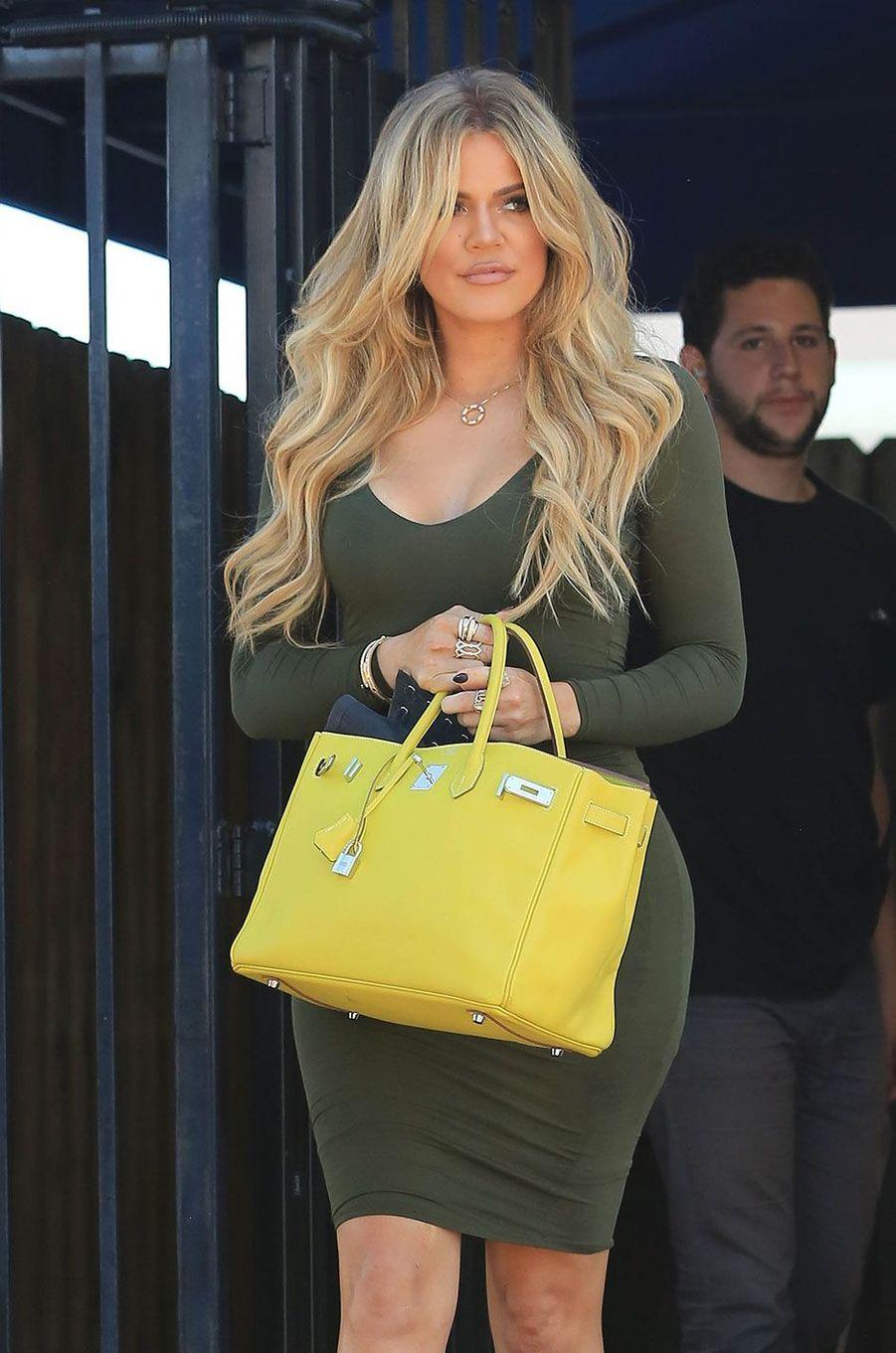Khloé Kardashian en août 2015