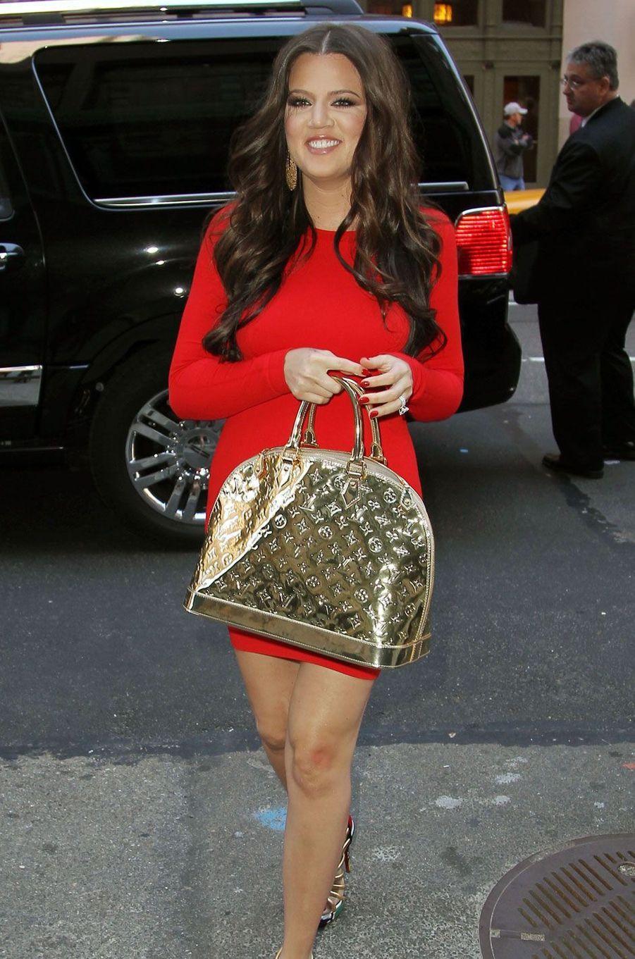 Khloé Kardashian en avril 2010
