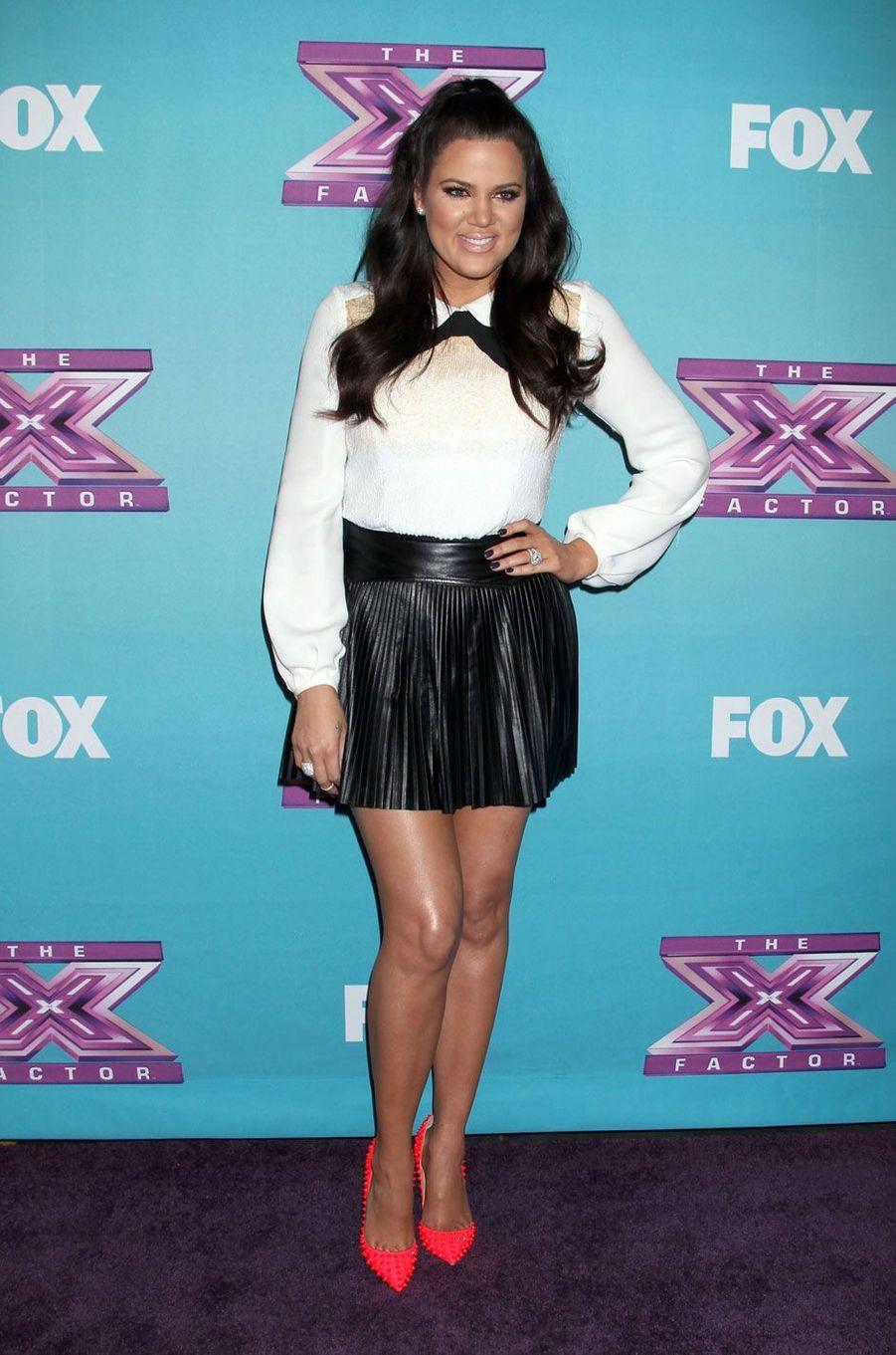 Khloé Kardashian en décembre 2012