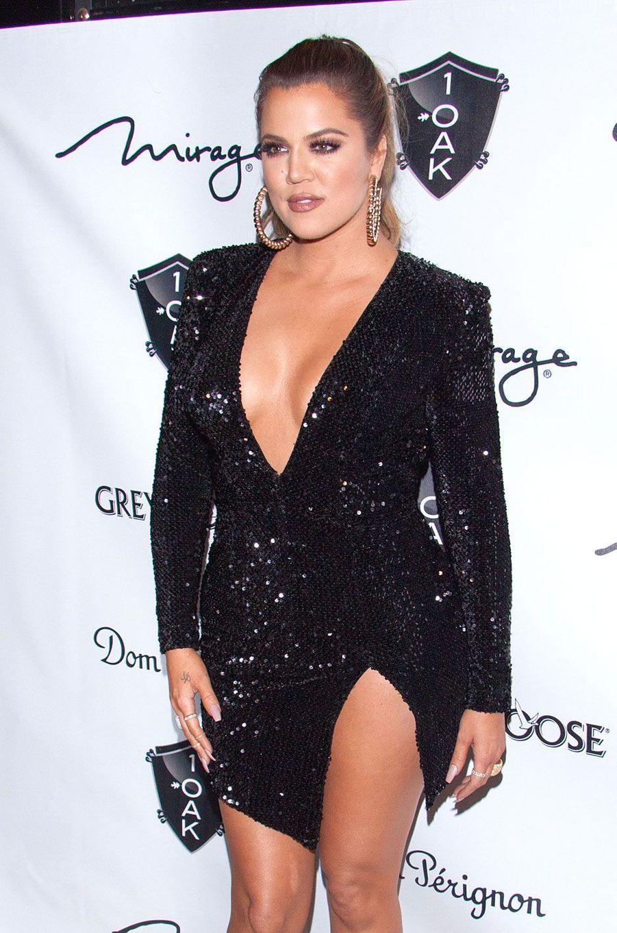 Khloé Kardashian en décembre 2014