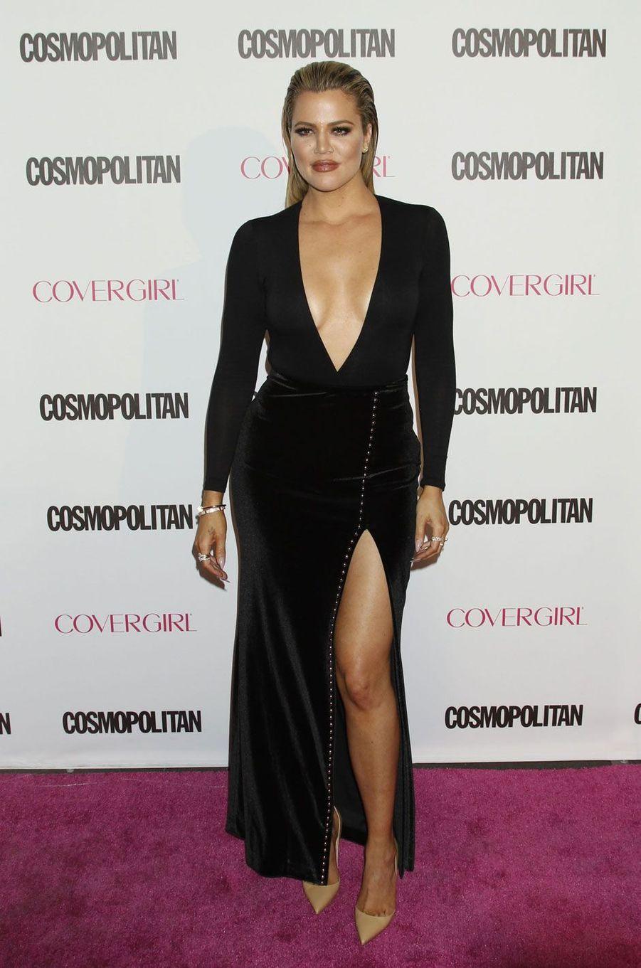 Khloé Kardashian en décembre 2015