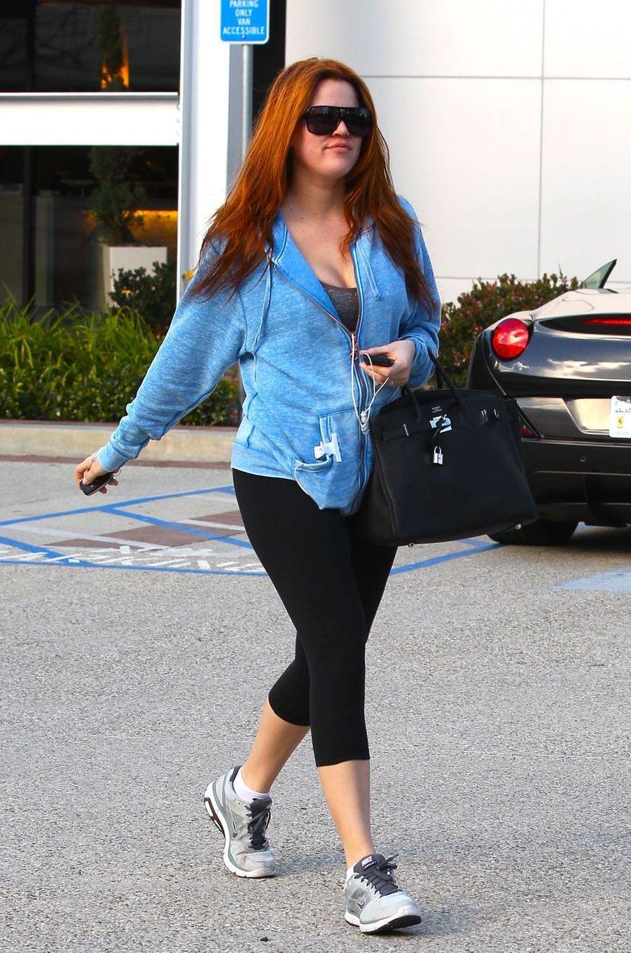 Khloé Kardashian en janvier 2011
