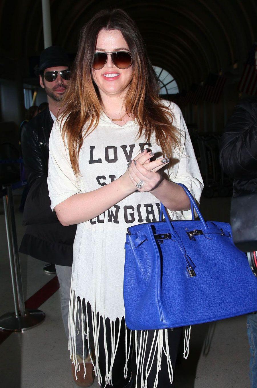 Khloé Kardashian en janvier 2012