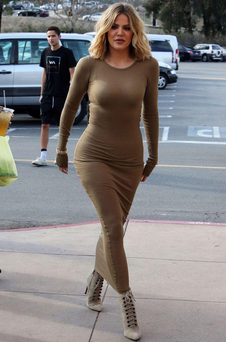 Khloé Kardashian en janvier 2016