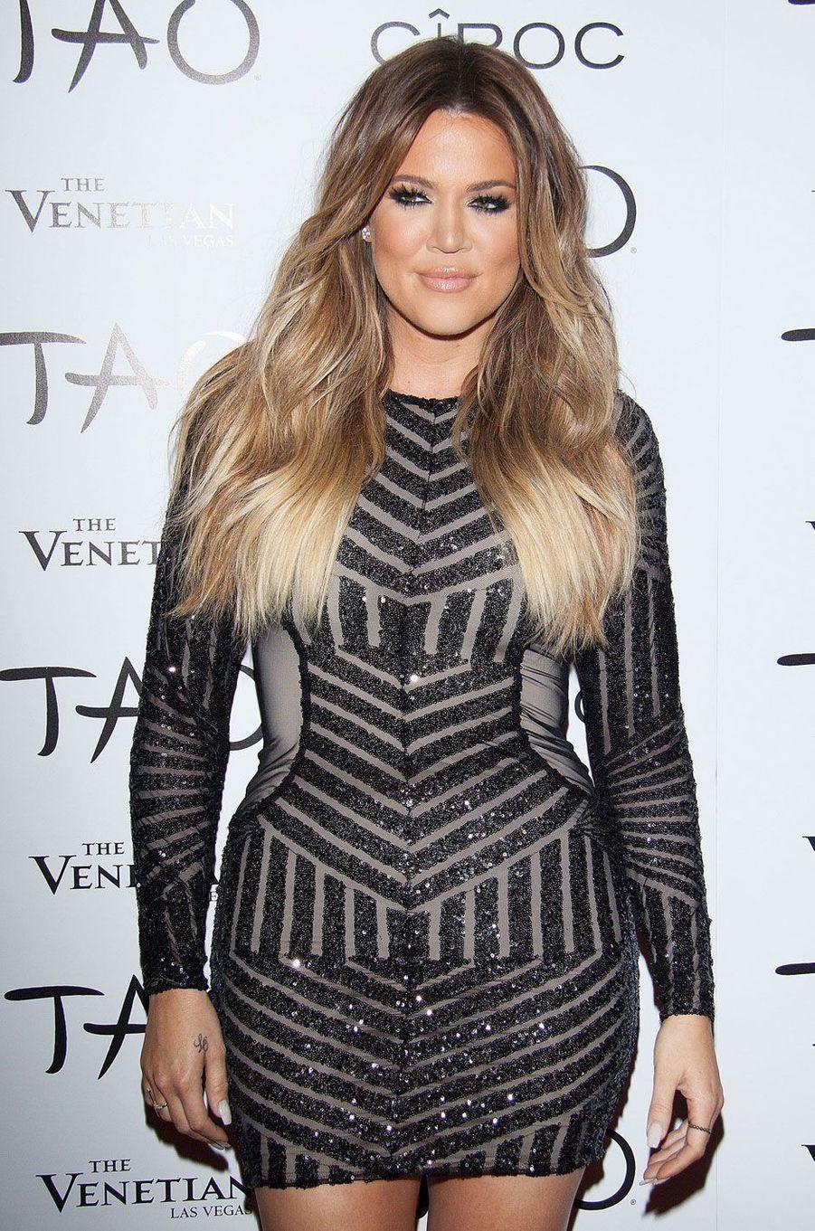 Khloé Kardashian en juillet 2014