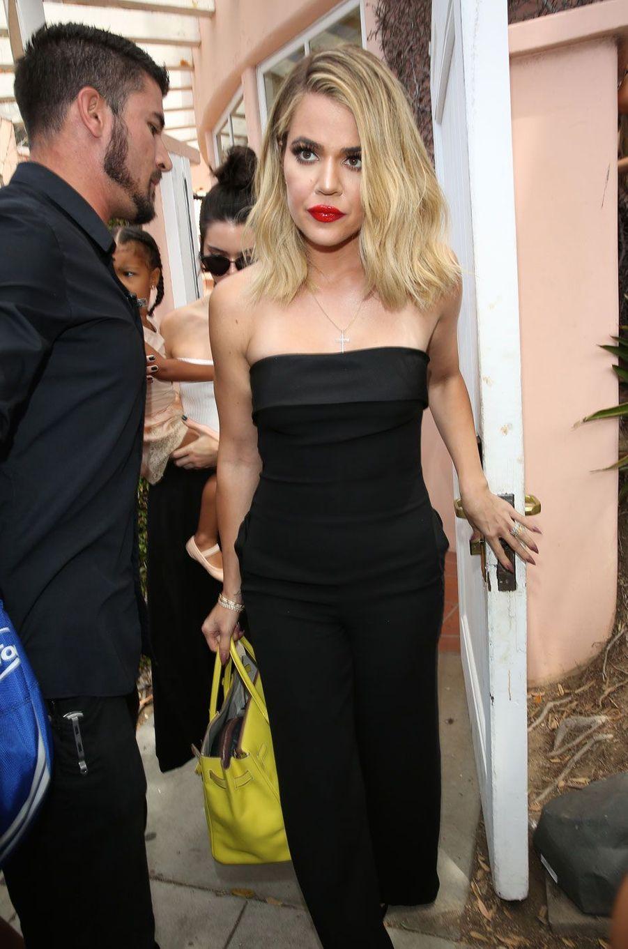 Khloé Kardashian en juillet 2016