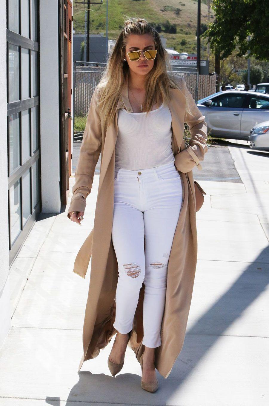 Khloé Kardashian en mars 2016