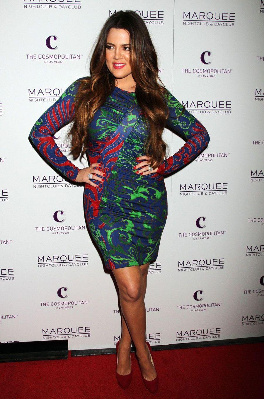 Khloé Kardashian en octobre 2011