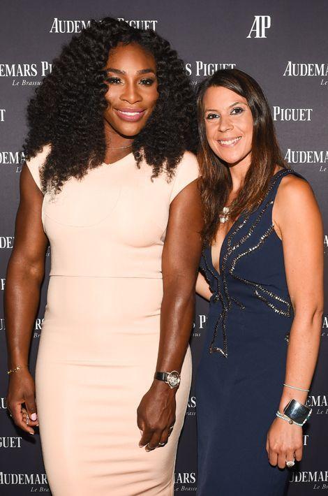 Marion Bartoli et la championne Serena Williams le 27 août dernier. Depuis 2013, l'ex-joueuse de tennis a perdu 13 kilos.
