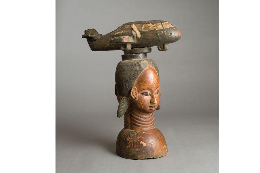 Afrique de l'Ouest, XXe siècle, bois, haut. 52 cm
