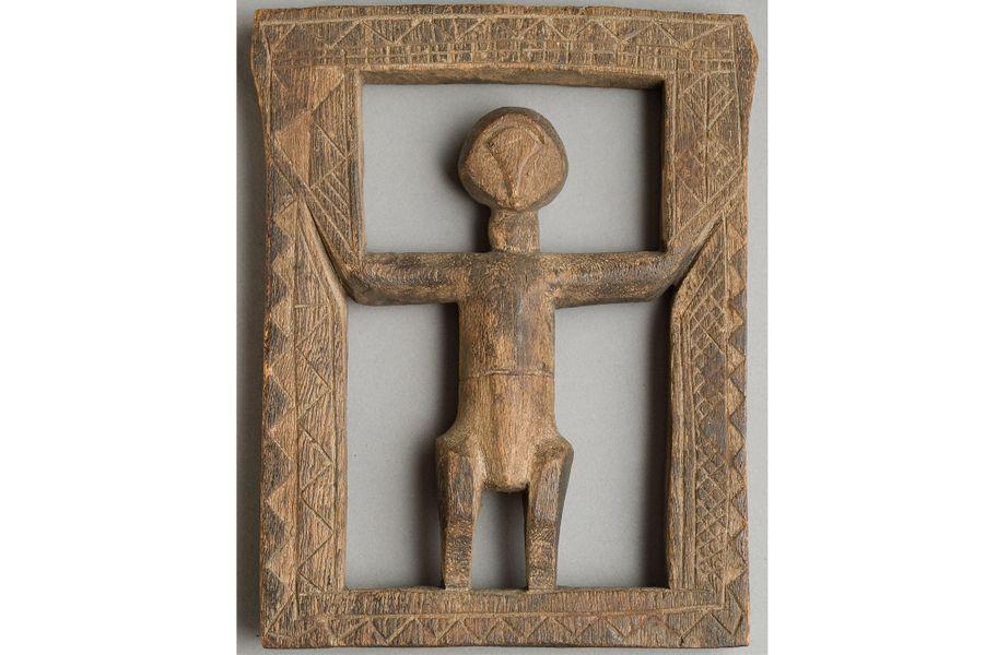 Congo, début du XXe siècle, bois léger, 19 x 13 cm