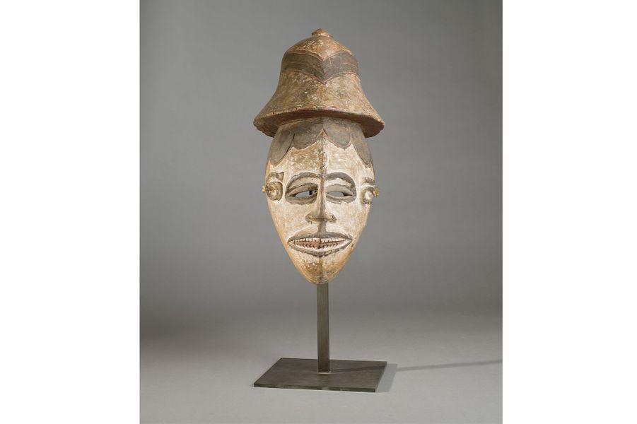 Igbo, Nigeria, première moitié du XXe siècle, bois, haut. 45cm