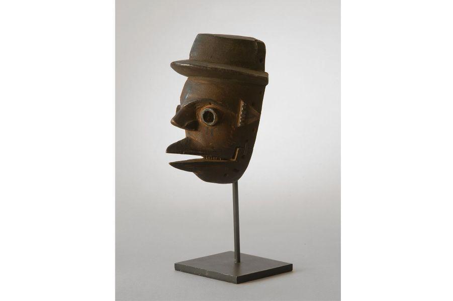 Igbo, Nigéria, première moitié du XXe siècle, bois, haut. 22 cm