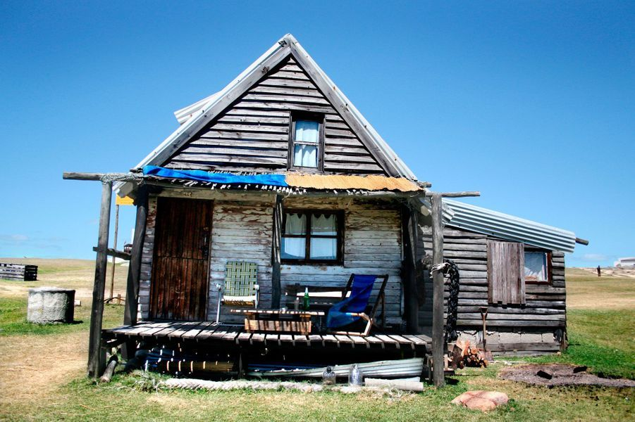 Maison typique de Grassland