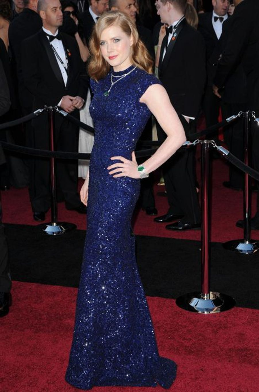 Amy Adams, aux Oscars 2011