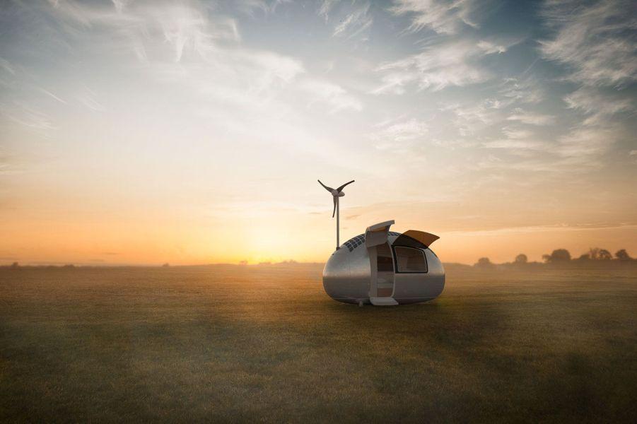 La caravane 100% écolo du futur