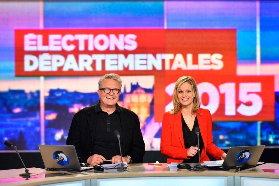 L'édition speciale de LCI pour les élections départementales avec Michel Field