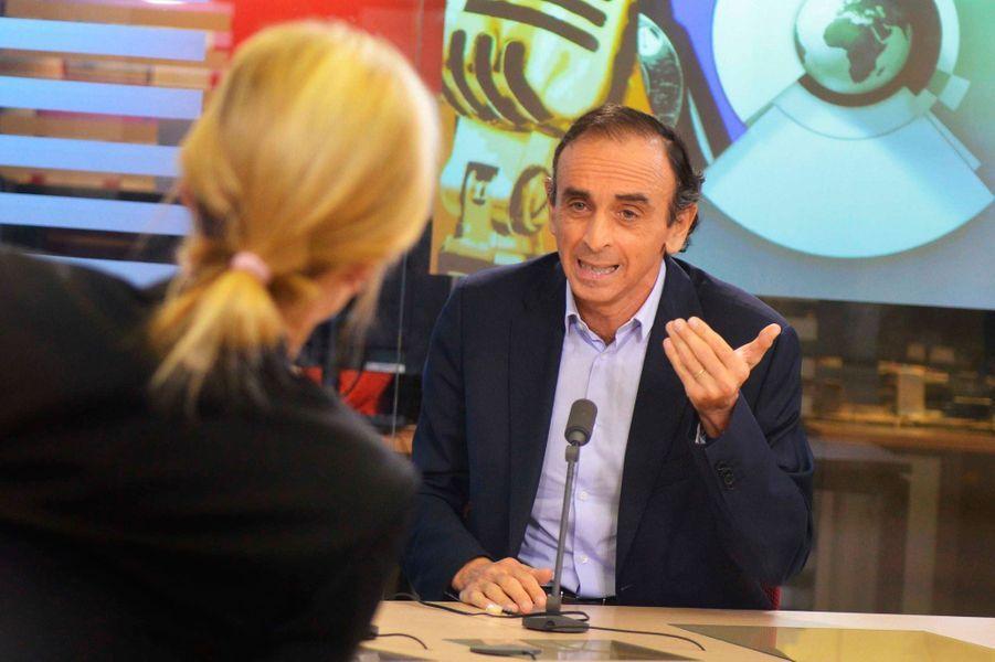 Un échange musclé avec Eric Zemmour en novembre 2014