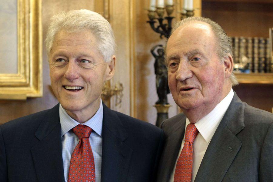 La Casa Real reçoit Bill Clinton