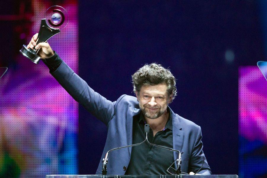 Andy Serkis, et son Vanguard Award