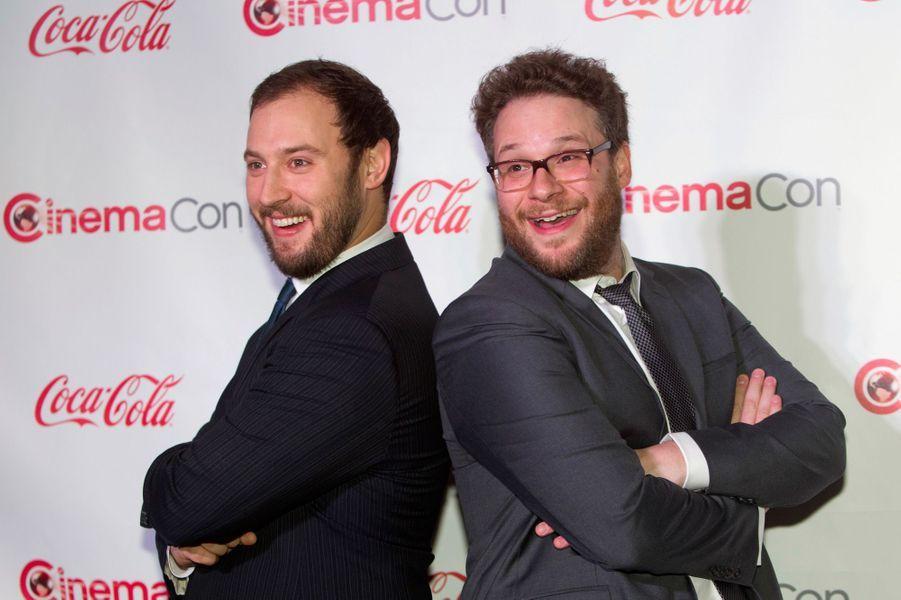 Evan Goldberg et Seth Rogen, distingués avec le prix des réalisateurs de comédie de l'année