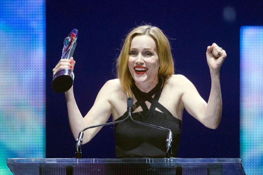 Leslie Mann, élue star comique de l'année