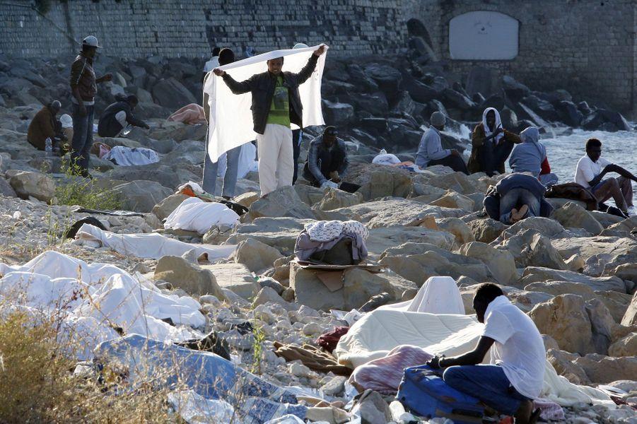 La détresse des migrants