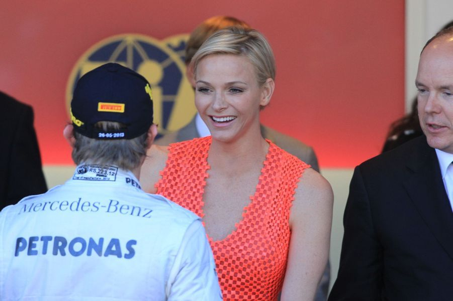 La famille de Monaco réunie pour le grand prix