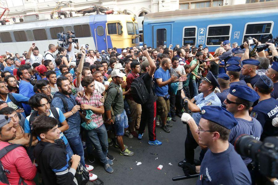 Chaos en gare de Budapest