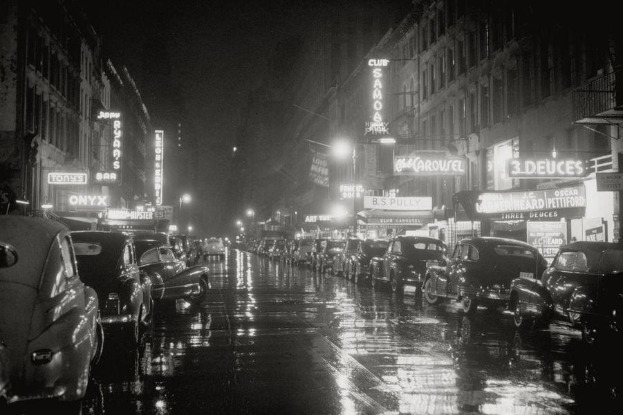 52 ème rue, Broadway, juillet 1948.