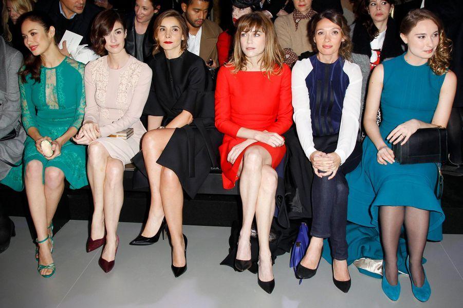 Olga Kurylenko, Paz Vega, Clotilde Courau, Marie-Josée Croze, Anne Marivin et Déborah François.