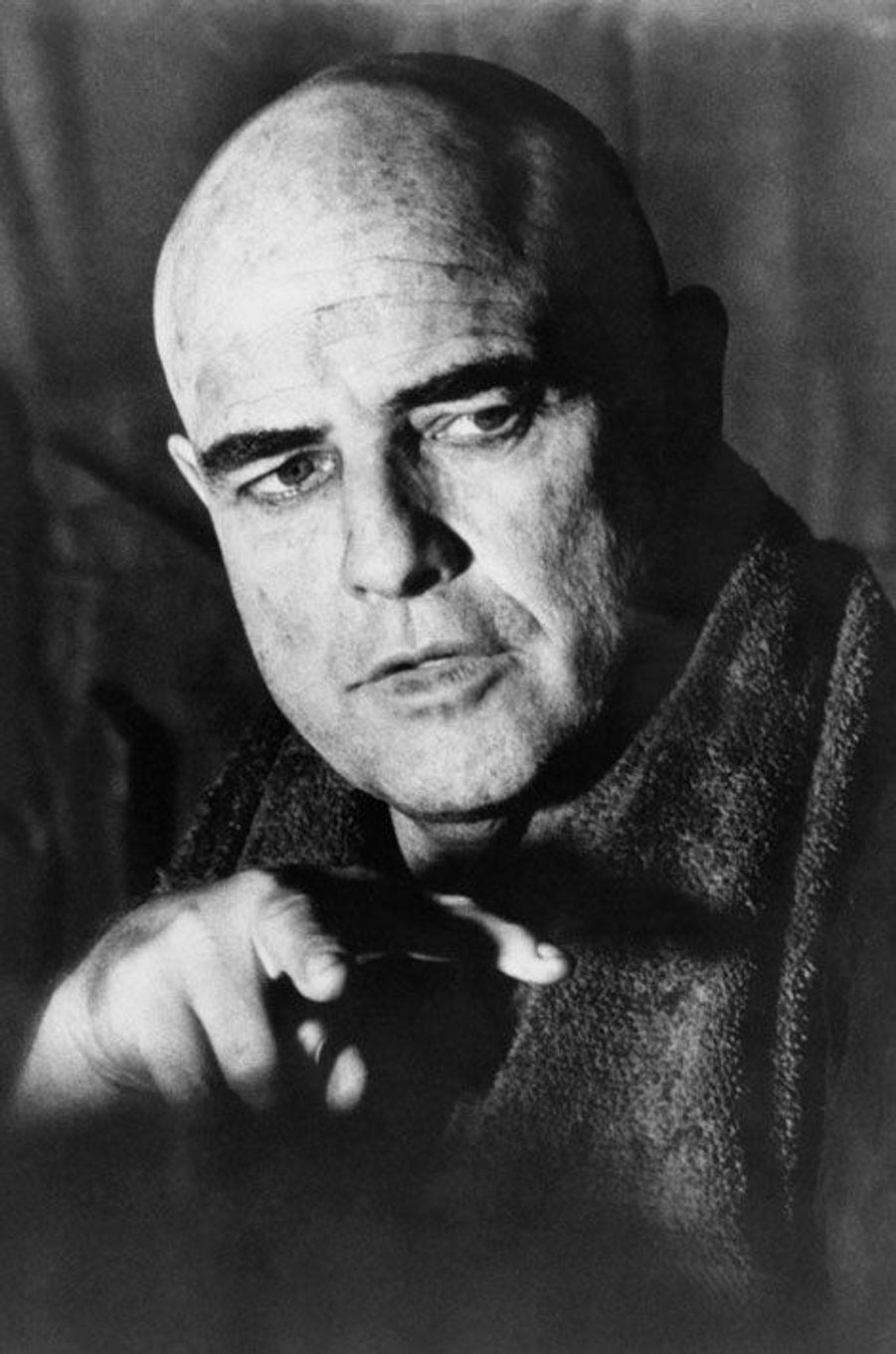 En 1979, Marlon Brando incarne le colonel Kurtz dans «Apocalypse Now» de Francis Ford Coppola.