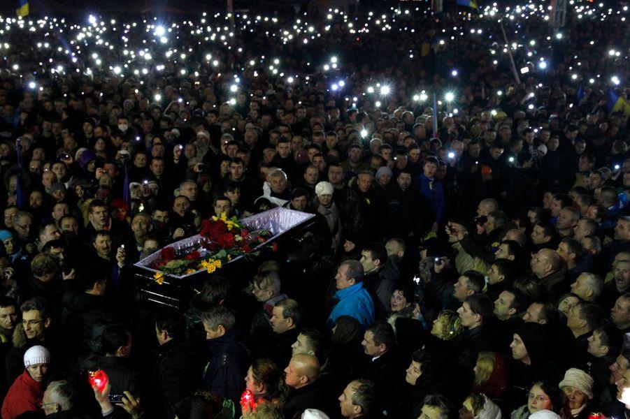 Funérailles d'un manifestant
