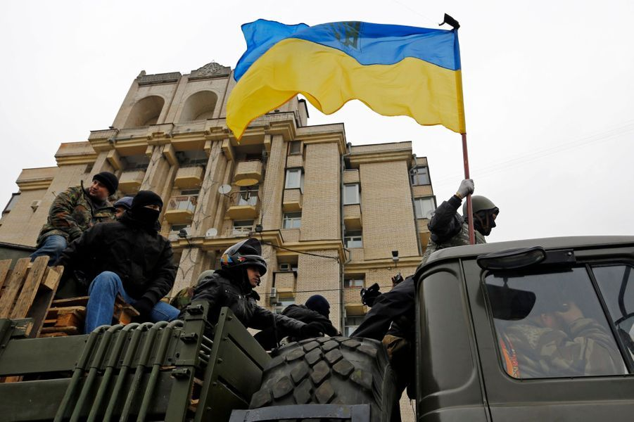 Manifestants anti-Ianoukovitch