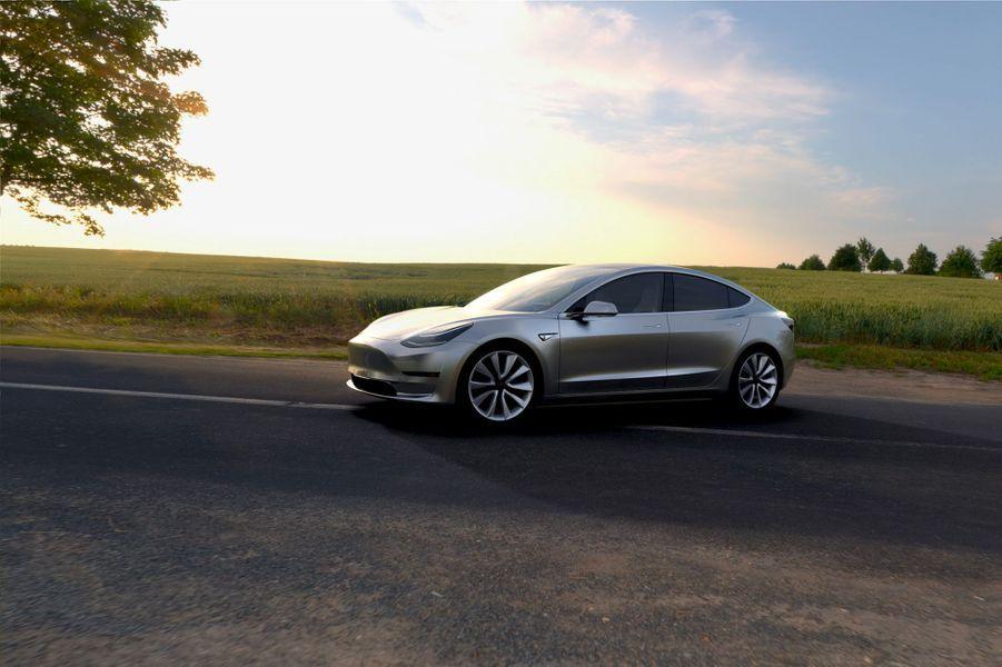 La Tesla Model 3 a été commandée 115 000 fois en 24 heures
