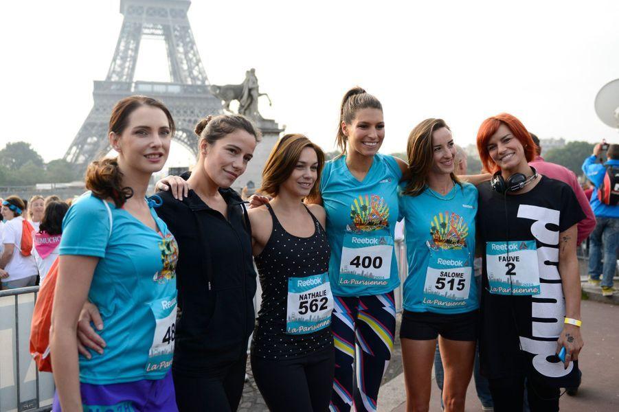 Frédérique Bel, Zoé Félix, Nathalie Péchalat, Laury Thilleman, Salomé Stévenin et Fauve Hautot