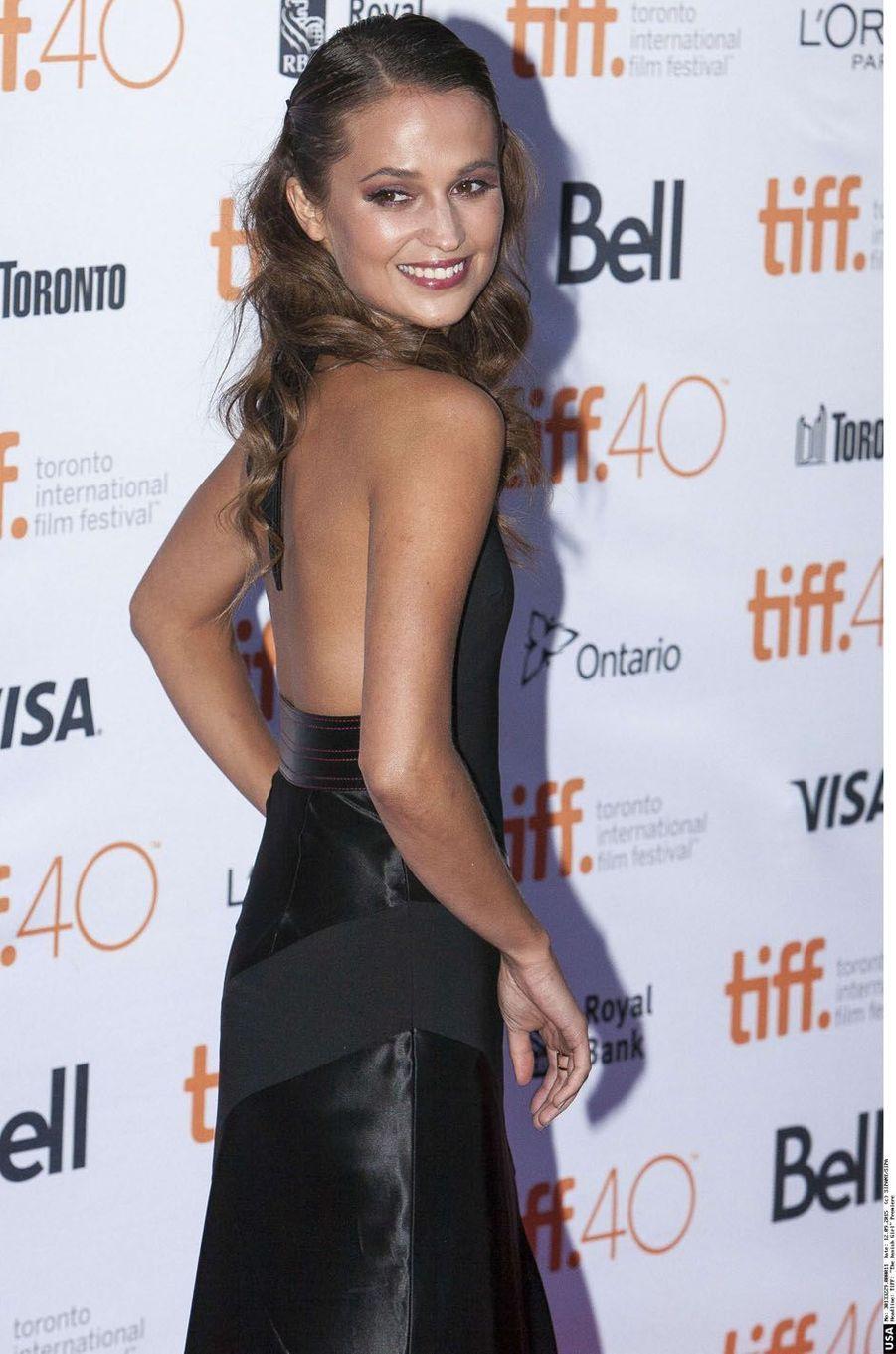 Alicia Vikander, septembre 2015.