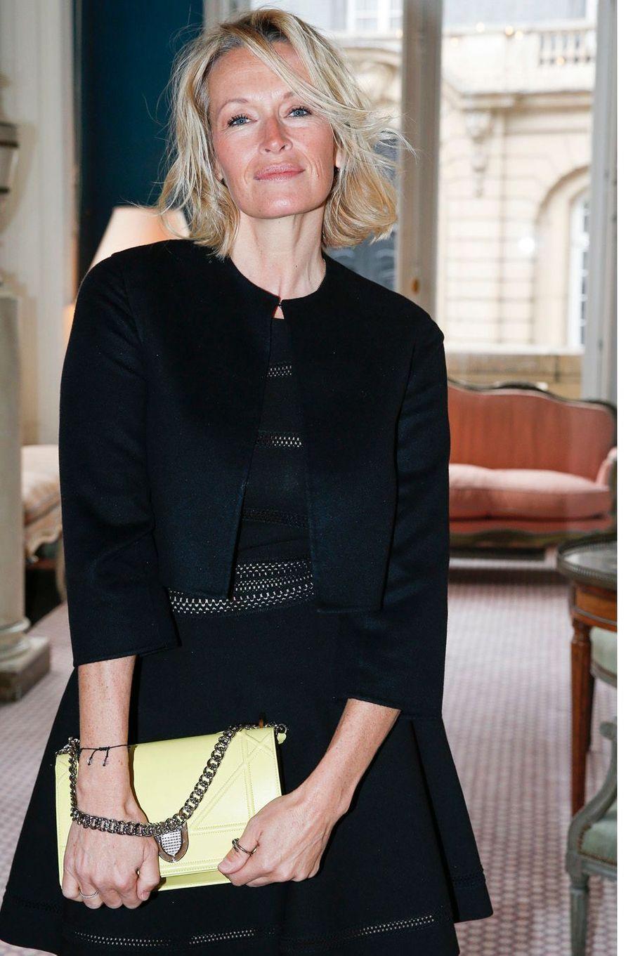 Estelle Lefébure, le 3 mars 2016