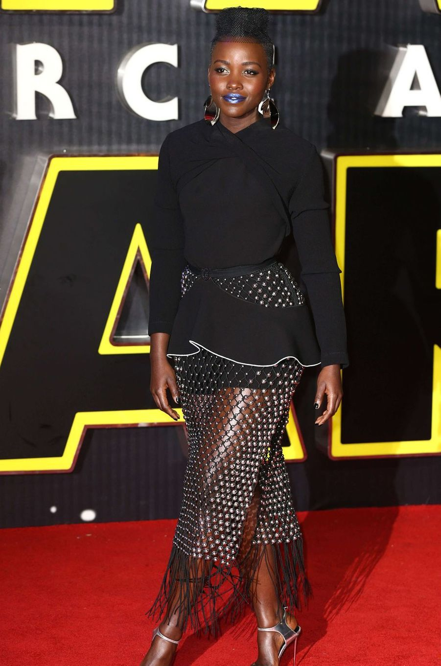 Lupita Nyong'o, décembre 2015.