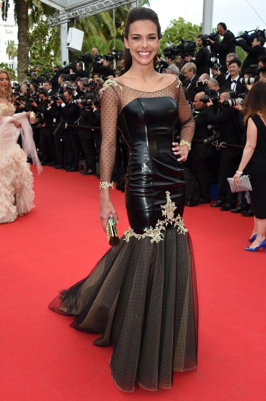 Marine Lorphelin, le 14 mai 2014 à Cannes