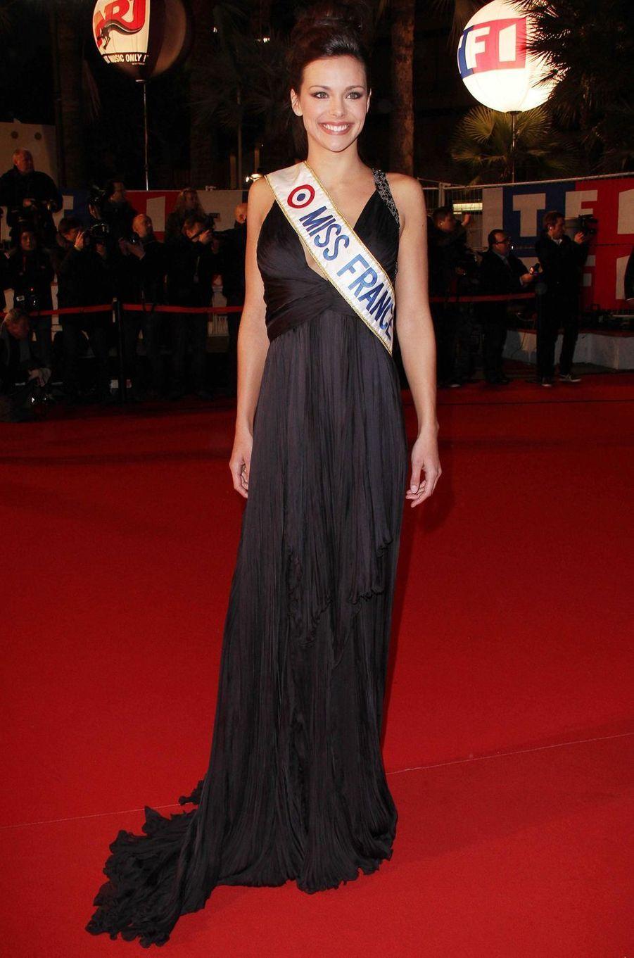 Marine Lorphelin, le 26 janvier 2013 à Cannes