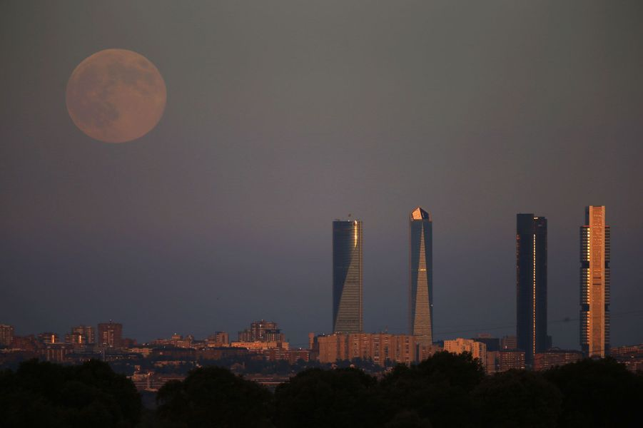 A Madrid (Espagne)
