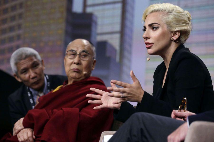 Lady Gaga et le Dalai Lama