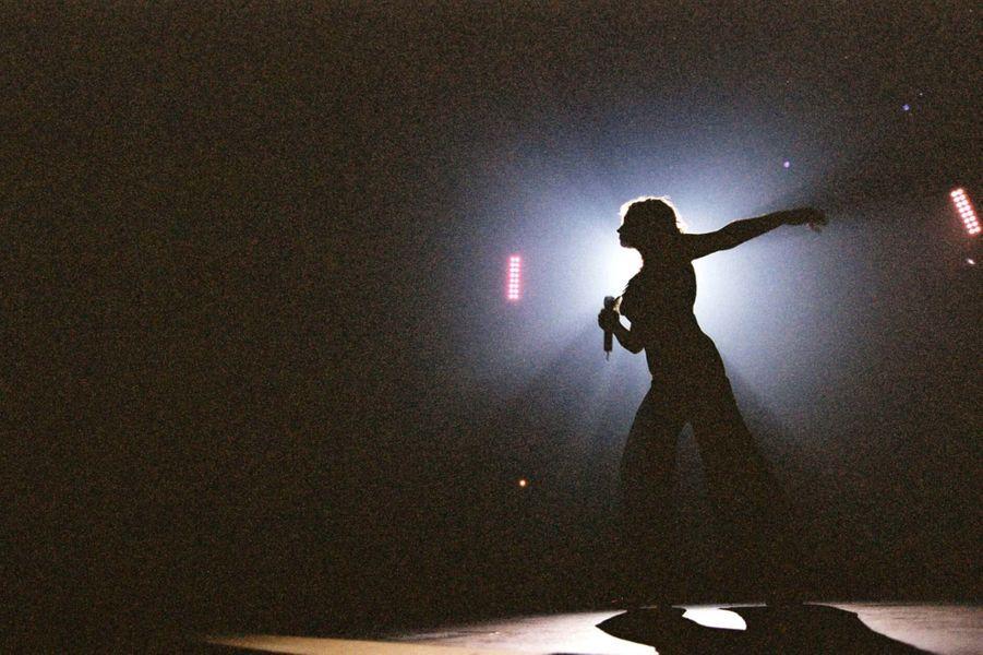 Lara Fabian au Zenith de Paris, le 18 décembre 2001.
