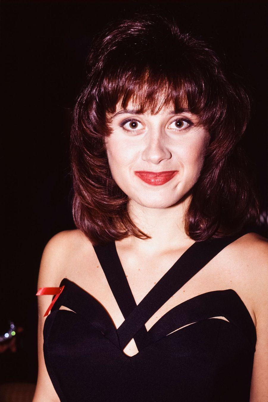 Lara Fabian en octobre 1993 au Canada.