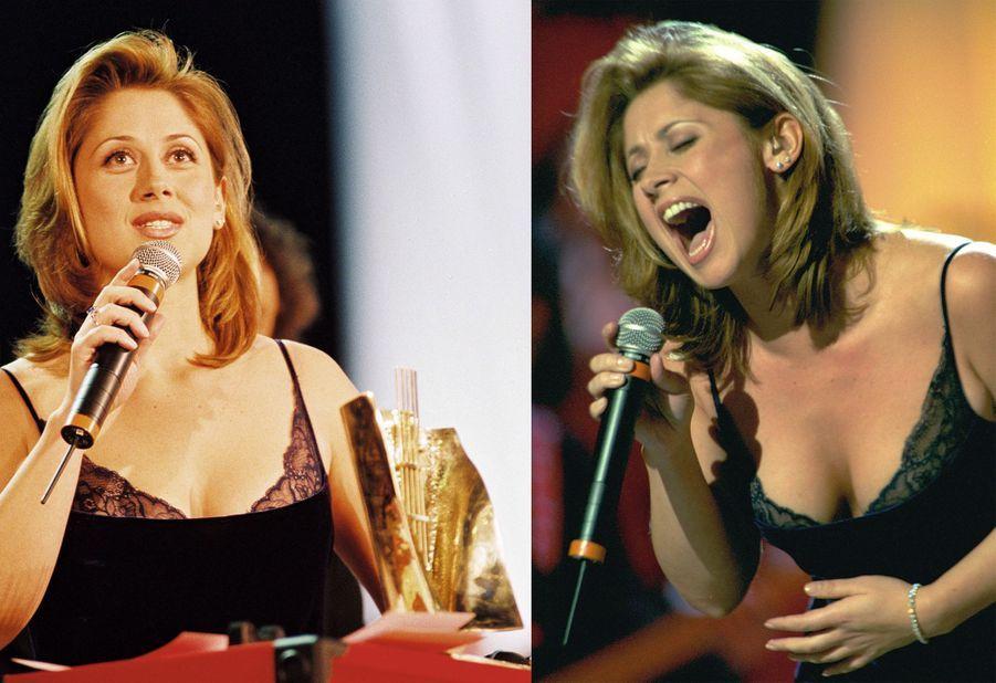 Lara Fabian, révélation de l'année au Victoires de la Musique 1998.