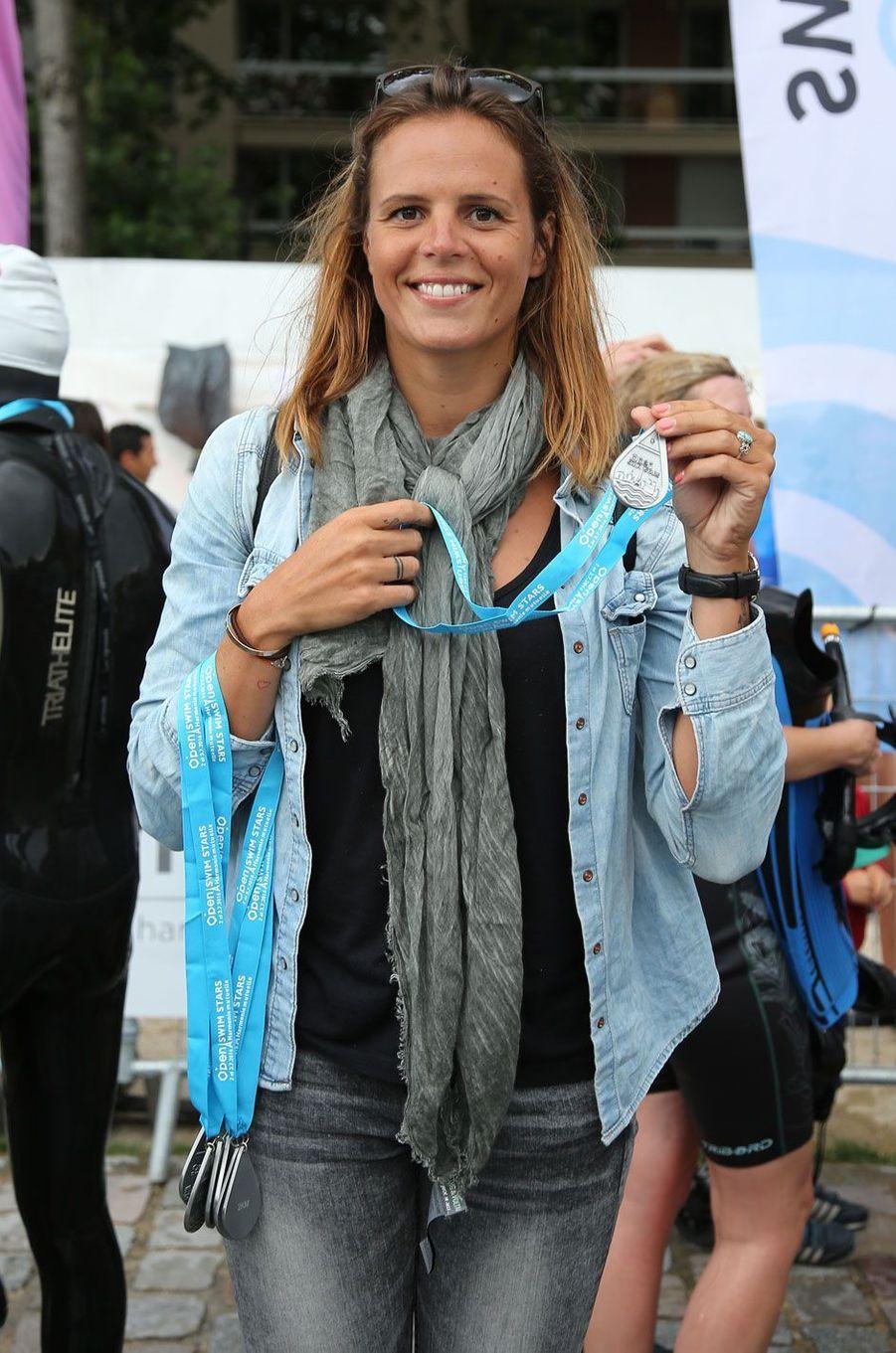 Laure Manaudou à l'Open Swim Stars, 2016