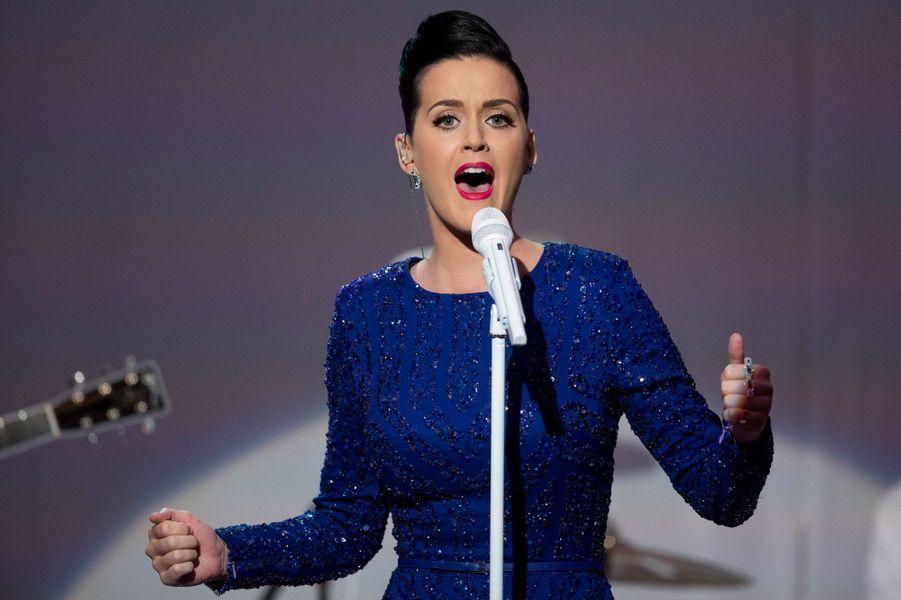 "Le couple Obama et Katy Perry célèbrent les ""Special Olympics"""